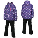 RESEEDA (レセーダ) Lady's skiwear 女性用用 RES86002 856P009( purple / black)
