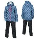 On Yo Ne Rush Air Lady's skiwear RUS86011 615P008(SAX/CHARCOAL)02P01Jun14