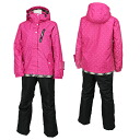 On Yo Ne Rush Air Lady's skiwear RUS86012 973P009(PINK/BLACK)02P01Jun14