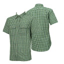ONYONE (on) insect shield men's short-sleeved shirt check men's ODJ97604 458 (forest)