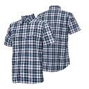 ONYONE (on) insect shield men's short-sleeved shirt check men's ODJ97604 699 (Navy)