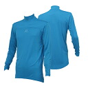 ONYONE (on) insect shield men's long sleeve high neck mens ODJ97S50 684 (blue)