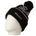 Descente (Descente) men's knit cap DKC-3211 BLK( black )02P15Apr14