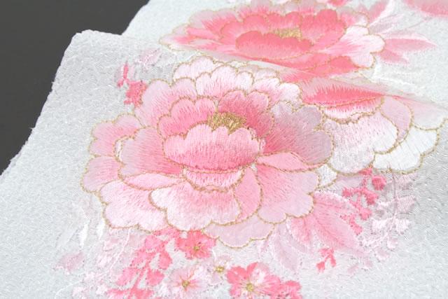 フォーマル向け刺繍半衿