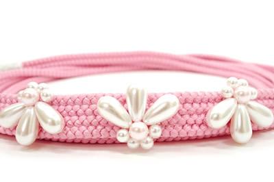 ピンク帯締め