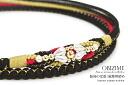 G Quinceanera wedding kimono dress formal Black Black Pearl hand braid gold kimono pure silk Japan made