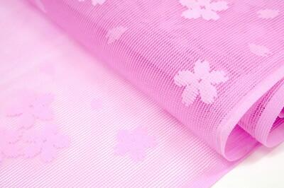 【レビューを書いて送料無料(メール便限定)】兵児帯 子供 ピンク 浴衣帯 へこ帯 女の子 桜