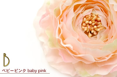 Hair ornament, wound beauty garden original ヘアアクセ corsage pink