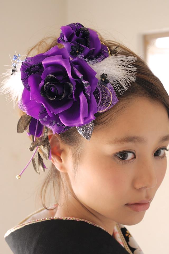 成人式や卒業式などの着物におすすめな髪飾り