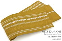 Presentation pattern yellow man's belt for men for men for stiff obi yukatas