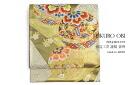 Fukuro gold black Mariya auspicious patterns embroidered tailoring up Kawabe craft humbly made Nishijin stamp NO378 formal long-sleeved dress Quinceanera visiting Japan made