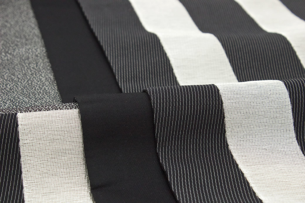 袋子带黑黑色银银子竖条纹条纹纯丝6封花纹京都西阵锦缎2505华翔苑藤