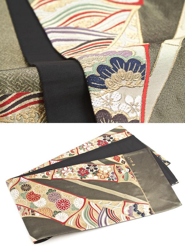 六通柄のフォーマル袋帯