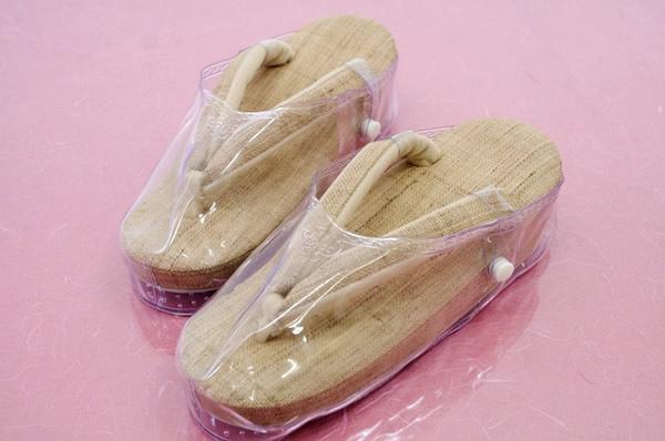 【草履カバー】雨の日も安心♪おとも(Mサイズ)着物 和装小物