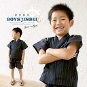 Jinbei lame high grade Shiji was woven Navy blue white kids cotton hemp kids ' boys boys 90 cm, 100 cm, 110 cm, 120 cm, 130 cm