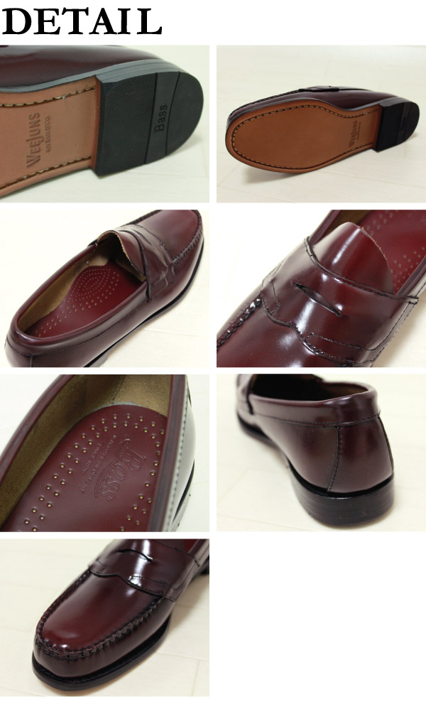 G��H �Х���G��H Bass �ڥˡ��?�ե��� �?���� �ӥ��ͥ����塼�� �?�ե��� Penny Loafer LOGAN