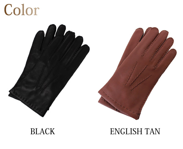 �ǥ�� DENTS �쥶�� �����ߥ��饤�ʡ� ���åƥ����� ���?�� ���� Cashmere Lined Hairsheep Leather Gloves �ܳ� 5�ܻ� �Х����� �ӥ��ͥ� ��� (5-1542)