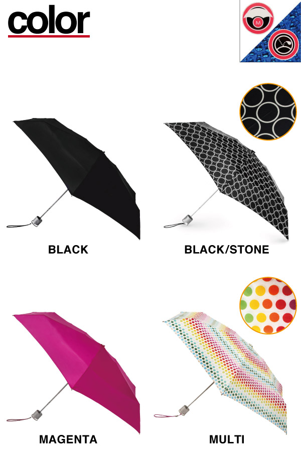 �ȡ��� totes AUTOMATIC UMBRELLA ����ѥ��� �ޤ���߻� Brella ��ư���� ���ʿ������ ̵�� ��ǥ����� ��� ��˥��å��� (8601)