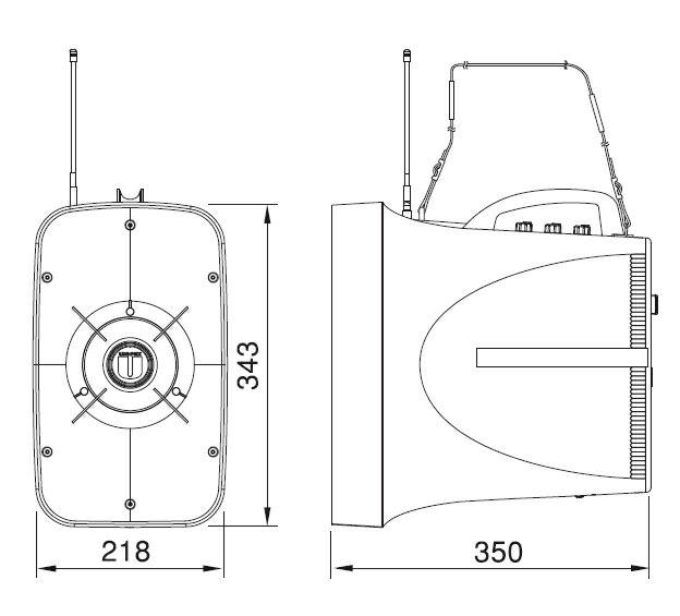 TWB-300 寸法