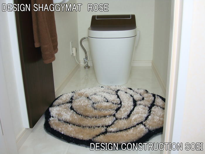 洗面マット 玄関マット トイレマット アクセントマット あらゆるシーンにしっくりきてしまう♪