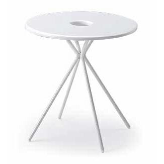 FlowLounge(フロウラウンジ)テーブル φ700/LAZT-7C7R-W9【自社便/開梱・設置付】