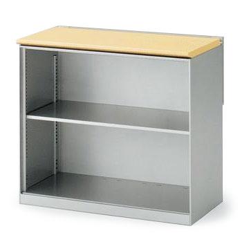 (インクルード) キャビネット・オープン棚型W60(スチール塗装タイプ)【自社便/開梱・設置付】