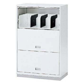 (シンラインキャビネット) H1200タイプ/扉型棚式/ベース付/下段専用【自社便/開梱・設置付】