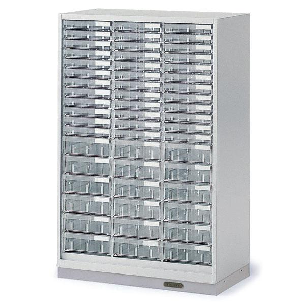 シンラインキャビネット H1200/クリスタルトレイ型 A4縦浅型36・A4縦深型18/コンセントベース/下段専用【自社便/開梱・設置付】