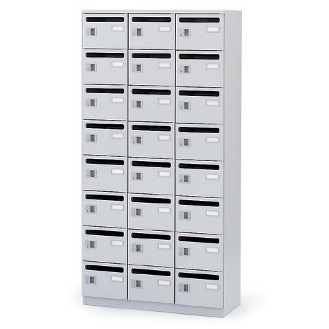 メールボックス/縦型(24ボックス)【自社便/開梱・設置付】