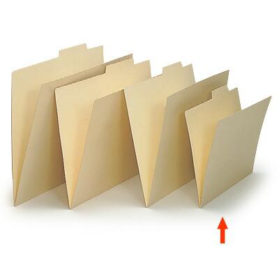 上見出し個別フォルダー B5用/紙質強化タイプ【50枚セット】