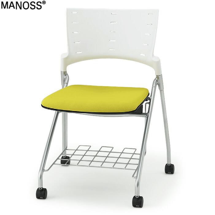 MANOSS(マノスチェア)310R 棚付/GB張地【自社便/開梱・設置付】