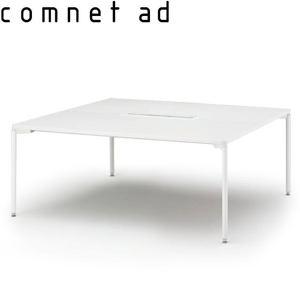 グループテーブル(開閉式配線カバー付)W160×D140【自社便/開梱・設置付】