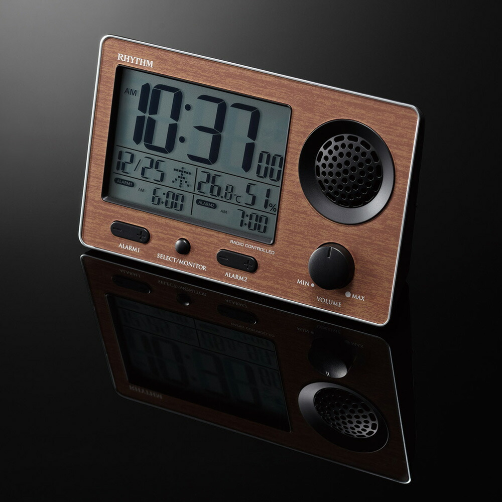 大音量 目ざまし時計 電波時計 デジスタイル 137