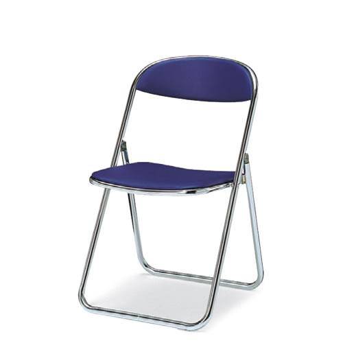 折りたたみ椅子 折りたたみイス スチール脚 ビニールレザー 座幅405タイプ コクヨ