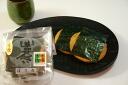 Rolled in Soka cracker Soka senbei Soka charcoal baked cracker seaweed 4 pieces