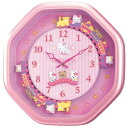 CITIZEN citizen rhythm clock clock Hello Kitty HELLO KITTY 4MH766MA13fs3gm