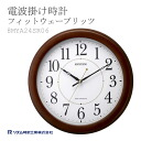 Radio clock rhythm clocks fitwavelitz 8MYA24SR06