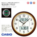 CASIO Casio always lit light features with radio clock temperature humidity meter with wall clock clock ITM-800NJ-5JFfs3gm.