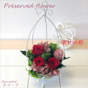 -Karenai flower preserved flower arrangement ドゥーナ 60th birthday celebration, mother's day and other celebrations to recommend! Dan-P068fs3gm