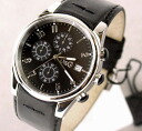 3719770097 D&G TIME ドルガバ SANDPIPER chronograph watch black apap8fs04gm