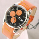 D & G TIME d & g SANDPIPER Chronograph Watch black / orange 3719770107 fs3gm5P13oct13_a10P18Oct1310P28Oct13