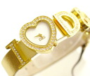 D & G TIME-I Love D & G ladies watch DW0004 gold 10P11jul1310P24jul13