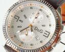 D & G TIME d & g LOU CRONO Chronograph Watch DW0033 Brown 10P24Jan1310P4Feb1310P11Feb1310P19Feb13