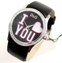 D & G TIME-BE MINE ladies leather belt watch DW0146