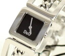 D & G TIME-CONFIDENTIAL women's SS belt wristwatch DW0235