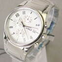 D & G TIME d & g SANDPIPER chronograph SS belt watch white 3719770110 fs3gm5P13oct13_a10P18Oct1310P28Oct13