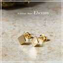"K18 gold earrings ""Ehcram"" piercing gold K18 18 K 18 k gold pierce women's women's jewelry gift gifts store mother's day 10P05Apr14M"