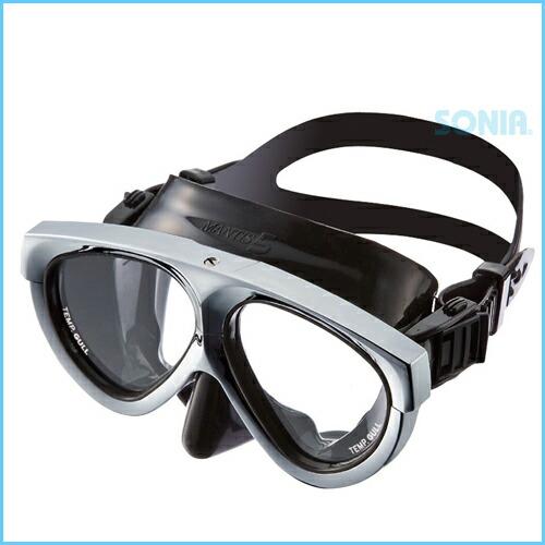 【1点限定】GULL(ガル)【GM-1037】マンティス5ブラックシリコンマスク(メタリックシルバー)mantisAnniversary40thモデル