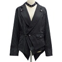 ALGONQUINS Algonquins half-back lace up layered wind double jacket-AL11678