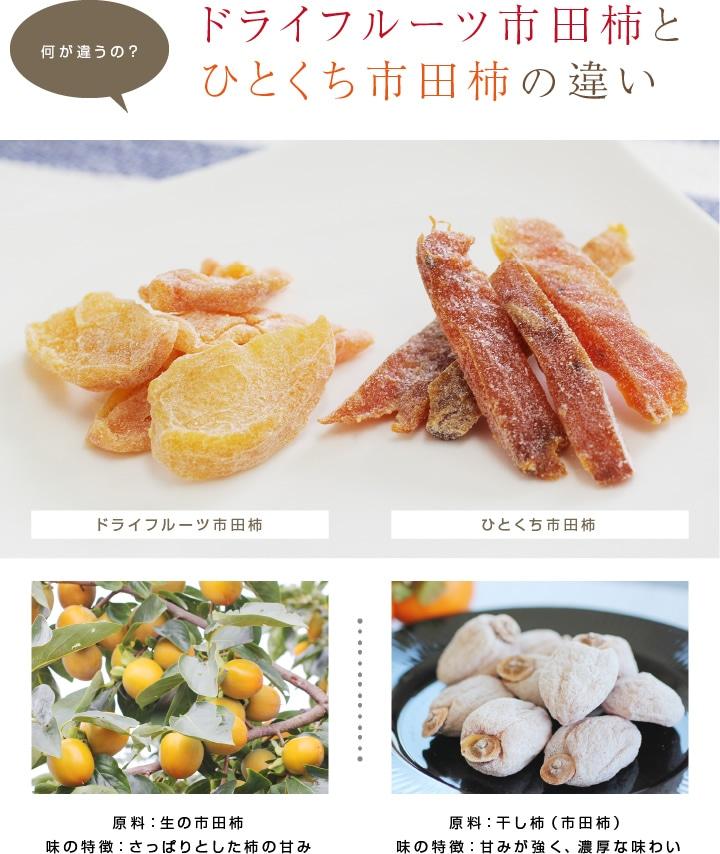 ひとくち市田柿(市田柿のドライフルーツ)